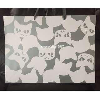 🚚 左京亞也 黑貓男友 大提袋 長鴻 漫博 限定 大型 紙袋 BL 漫畫 周邊