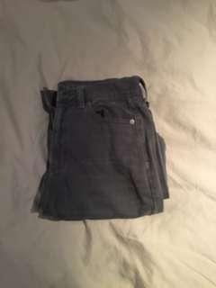 Grey Mom Jeans