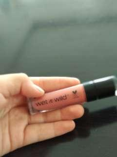 #JAN25 Wet n Wild Lipstick shade Nudist Peach
