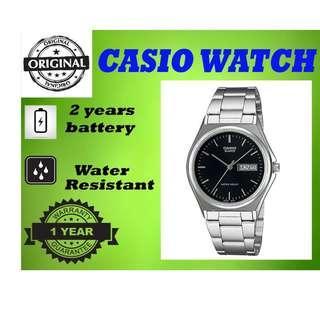 Casio MTP-1240D-1ADF Men Watch Silver Strap