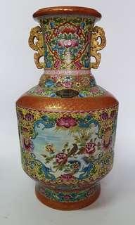 瓷皇涂金花瓶