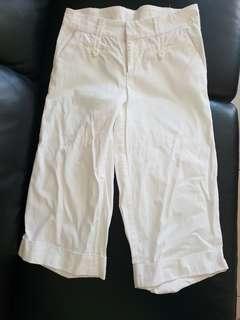 Size 8 white shorts/pants