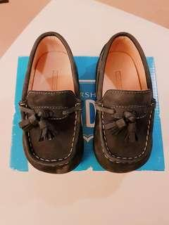 Preloved Florsheim Shoes for Baby Boy/Toddler Navy Blue Size 9