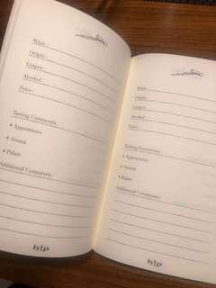 Wine notebook 紅酒記事簿
