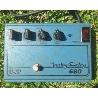 DOD Analog Delay 680 Made in USA