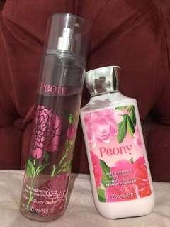 Fine fragrance mist and body lotion