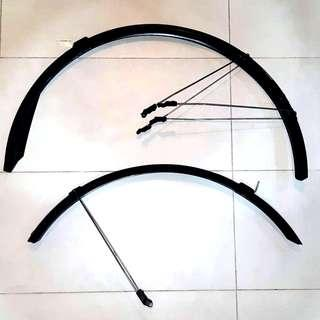 """CNY Spring Cleaning: Zefal 29"""" 700c full fenders mud guard"""