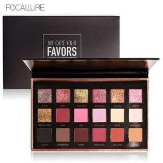 Focallure Eyeshadow Favors Bright Lux