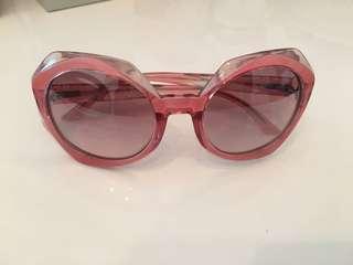 Missoni pink sunglasses