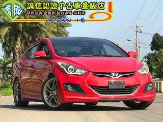 2012年 ELANTRA 過年就是要開紅色的車 只賣3X