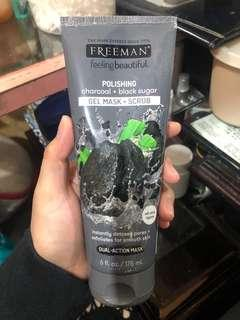 Freeman polishing charcoal and black sugar