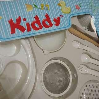 KIDDY Feeding Set / Peralatan Makan