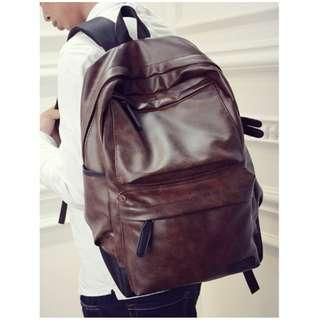 Hirai Leather XL Backpack Bag