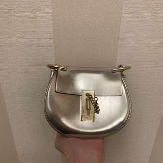 Chloe silver mini size bag