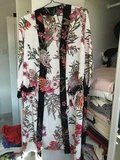 女裝睡袍 women night gown 2件 s/m size