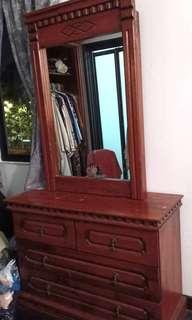 Set Dressing Table with chest drawer