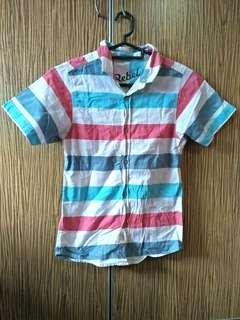 Striped Short Sleeved Shirt #APR10