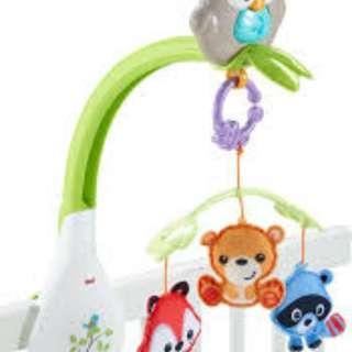 Fisher Price : Woodland Friends 3-in-1 Musical Mobile