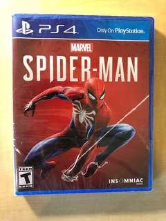 全新 未拆封 Spider-Man Ps4
