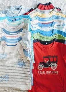 Bundle Toddler Boys Tops Shirts