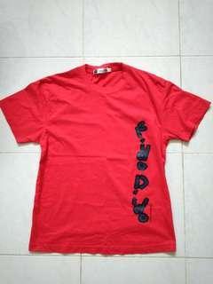 #FEBP55 🉐 Fido Dido Red T-shirt Size M Boy's