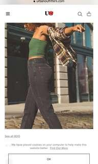 UO mom jeans!