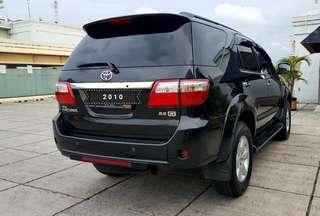 Toyota Fortuner G 2.5 At diesel 2010 angs 3.5 jt