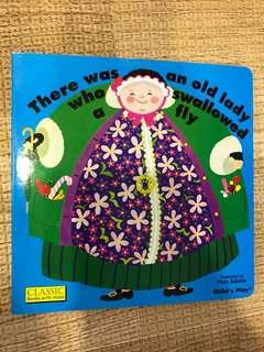 BN There Was An Old Lady Who Swallowed A Fly (Boardbook)