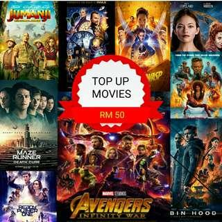 OTG - Pendrive 32GB,64GB,128GB With Movies!!!!