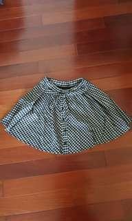 🚚 格子短裙