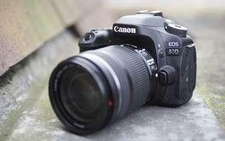 Canon EOS 80D Kredit Cepat Free 1x Cicilan Dp Ringan All Type Ready