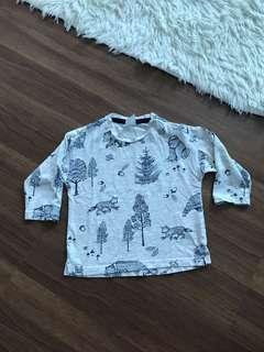 H&M Longsleeve Tshirt