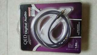 QED DIGITAL CABLE 1 METER NEW
