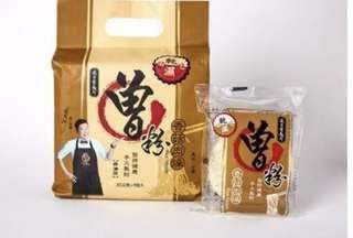台灣 曾拌麵 曾粉 香菇肉操 1包4個麵