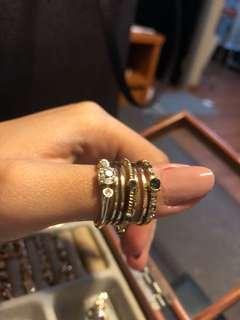 H&M ring #onlinesale Take All 7pcs #onlineparty