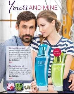 Parfum Navigo JAFRA (hijau)