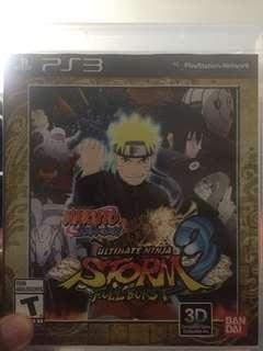 Dijual bd ori ps 3 naruto ultimate ninja storm full burst