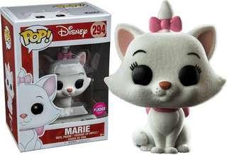 Funko flocked Marie aristocats pop vinyl new Disney