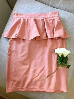 100% new Lady pink skirt