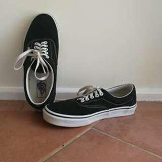 The Authentic Black Vans