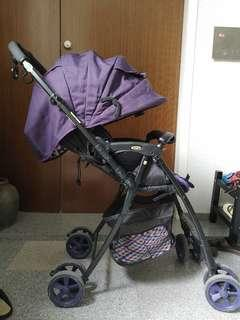 Aprica light weight reversible stroller