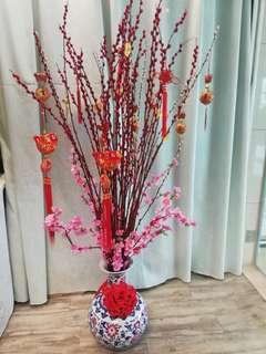 Chinese New Year floral arrangement
