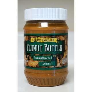 無鹽花生醬 Trader Joe's Creamy Unsalted Peanut Butter From Unblanched Peanuts 00014878
