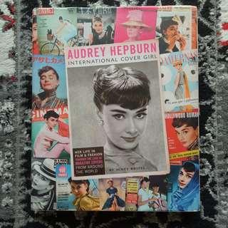 Audrey Hepburn - International Cover Girl (Coffee Table Book) [First Edition] #CNY888