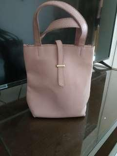 Tas Fashion Dusty Pink