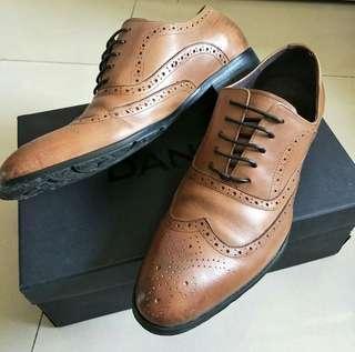 Dandy 專櫃男士皮鞋 雕花皮鞋
