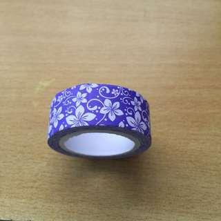 Purple Washi Tape (Brand New!)