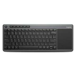 RAPOO K2600 WIRELESS TOUCH KEYBOARD BLACK - 2 YEARS WARRANTY