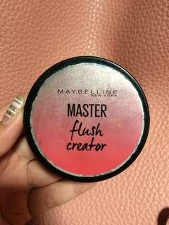 Blush on Maybelline Master flush creator
