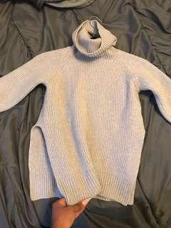 Grey Wilfred turtleneck sweater